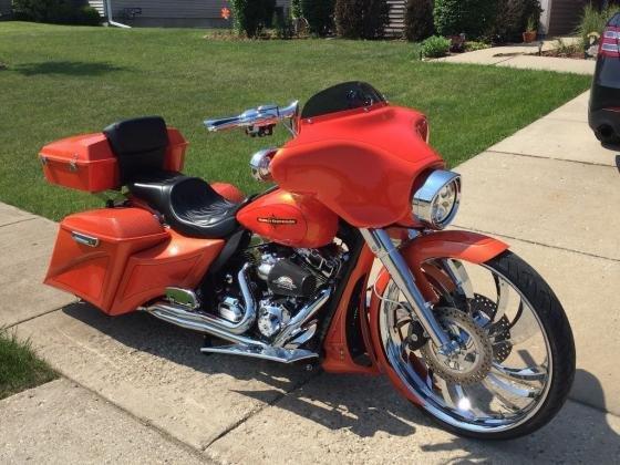2012 Harley Davidson Street glide FLHX