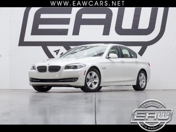 2011 BMW 5-Series 528i 46434 Miles White 3.0L L6 DOHC 24V Automatic