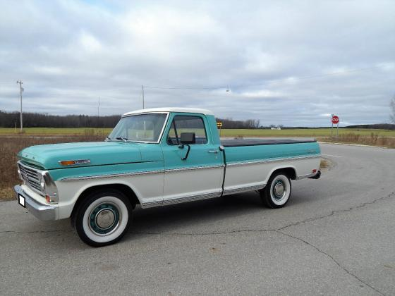 1968 Ford F-100 Ranger Automatic