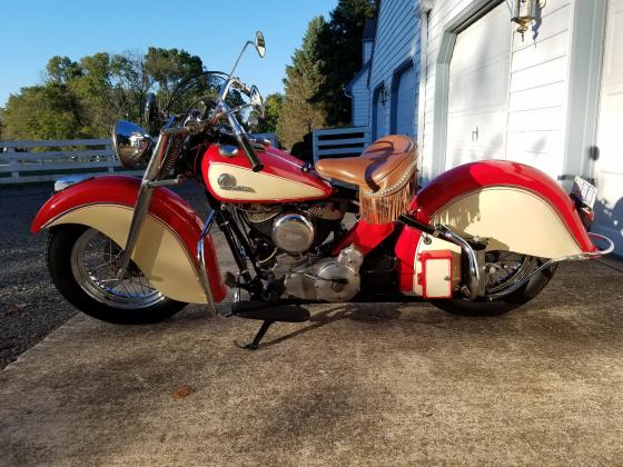 1946 Indian Chief Professionally Rebuilt
