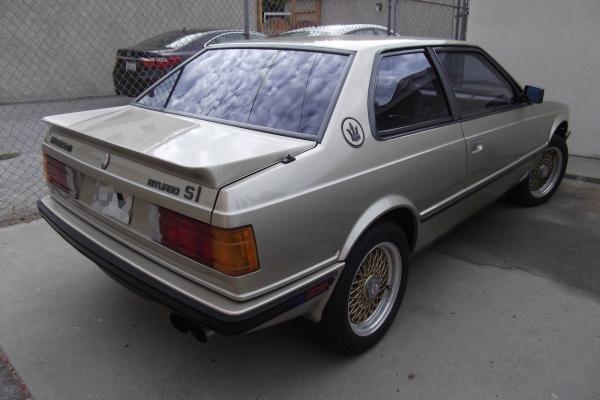 Cars - 1987 Maserati Biturbo Coupe SI