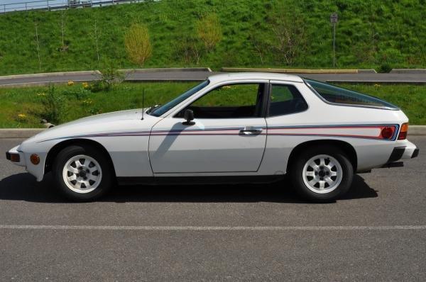 1977 Porsche 924 Martini and Rossi Edition