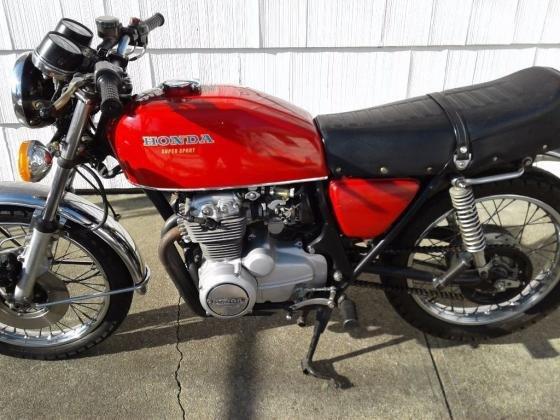 1975 Honda CB 400F
