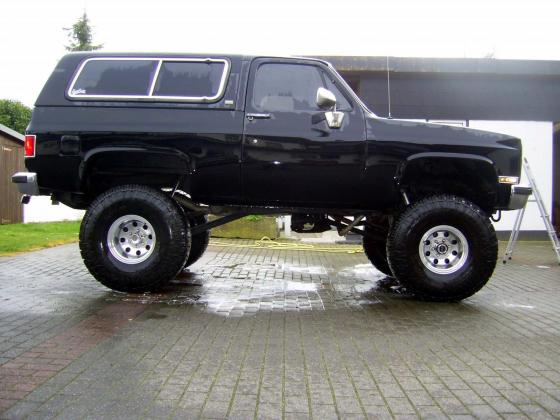 Cars - 1990 Chevrolet Blazer K5 Silverado MONSTER TRUCK