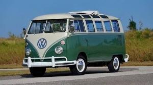 1966 Volkswagen Bus Vanagon 21 Window Samba Split Window Deluxe
