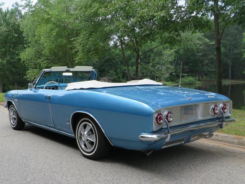 Cars 1965 Chevrolet Corvair Corsa 140 Convertible