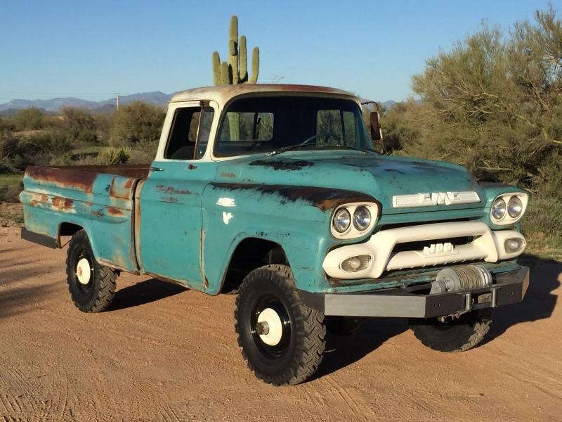 Cars - 1959 GMC 1/2 Ton Pickup Truck