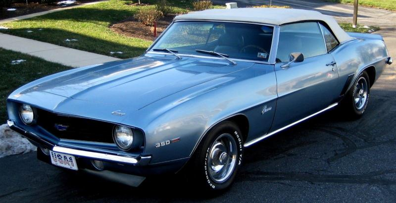 Used Cars Baltimore >> Cars - 1969 Chevrolet Camaro Convertible Blue