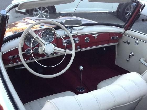 1960 Mercedes Benz 190 SL Convertible