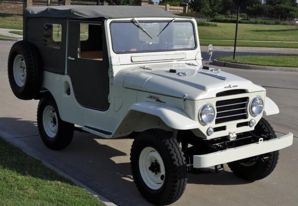 1960 Toyota Land Cruiser FJ25 Soft Top