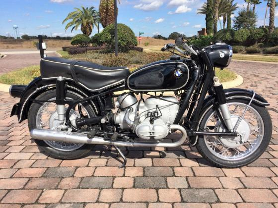 1965 BMW R-Series R69S Original