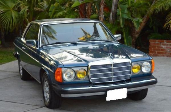 1982 Mercedes-Benz 300-Series turbo diesel coupe 300CD