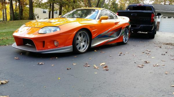 1994 Toyota Supra Twin Turbo 3.0L Fast Furious