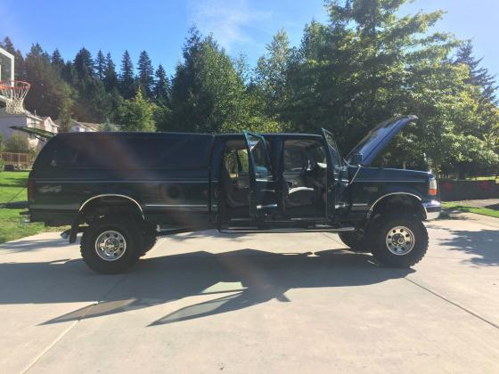 1997 Ford F-350 Crew Cab Long Bed Lifted