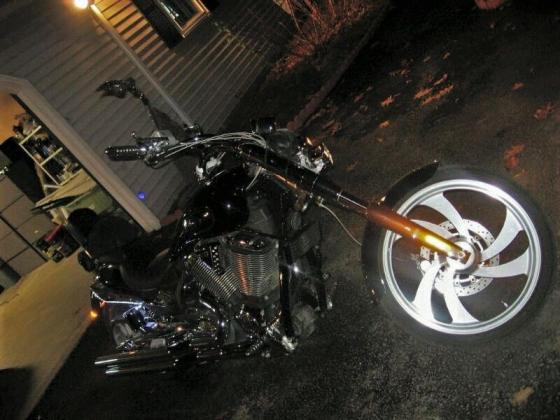 2006 Victory Jackpot Customized Chrome Road Steel