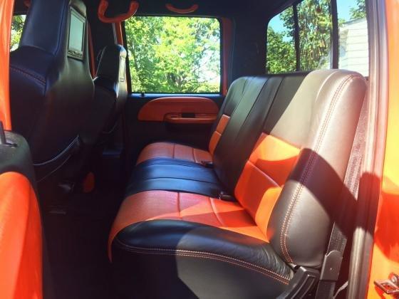 2008 Ford F-650 Custom Pickup Big Orange