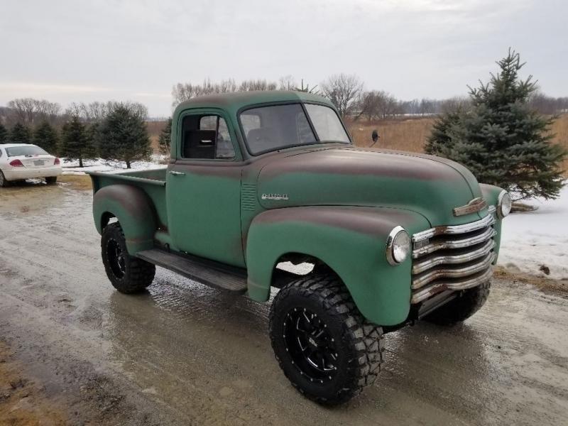 1951 Chevrolet 3100 Pickup Truck 4x4