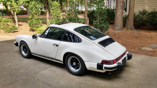 1966 Porsche 911 Sun Roof Coupe White