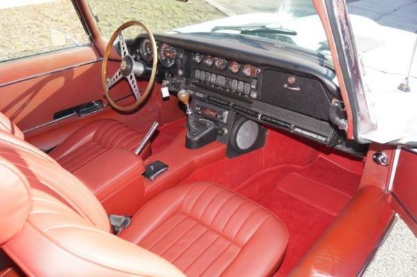 1969 Jaguar XKE E-Type Series II Coupe