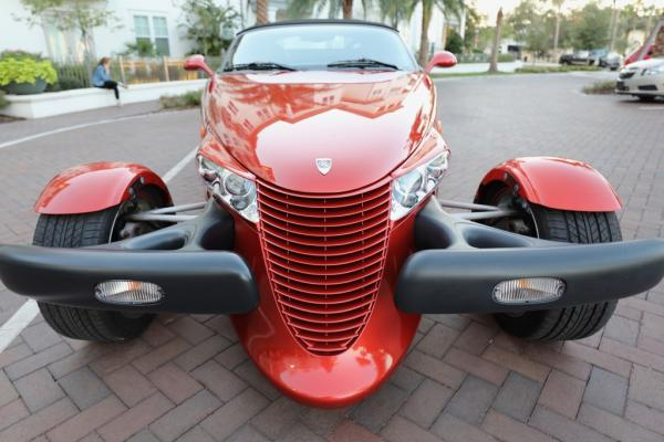 2001 Chrysler Prowler with Trailer