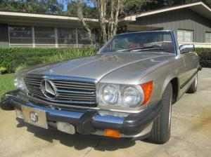 1989 Mercedes-Benz 560 SL Automatic