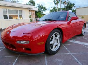 1993 Mazda RX-7 Turbo RED