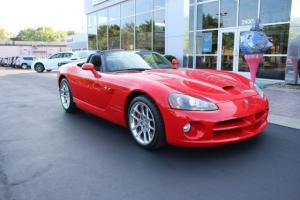 2005 Dodge Viper SRT-10 Convertible RED