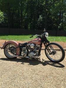 1952 Harley-Davidson Panhead, NO issues