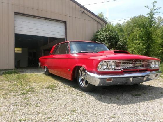 1963 Ford Galaxie Pro Touring Resto Mod 468 BB
