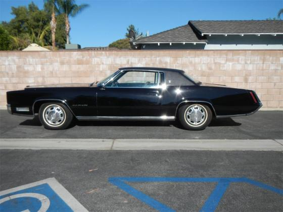 1967 Cadillac Eldorado V8 All Black
