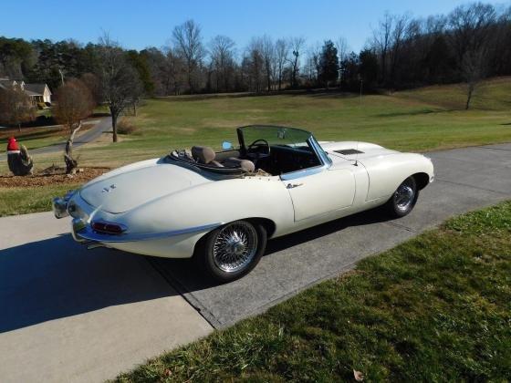 1968 Jaguar E-Type Series 1.5 Convertible XKE Roadster