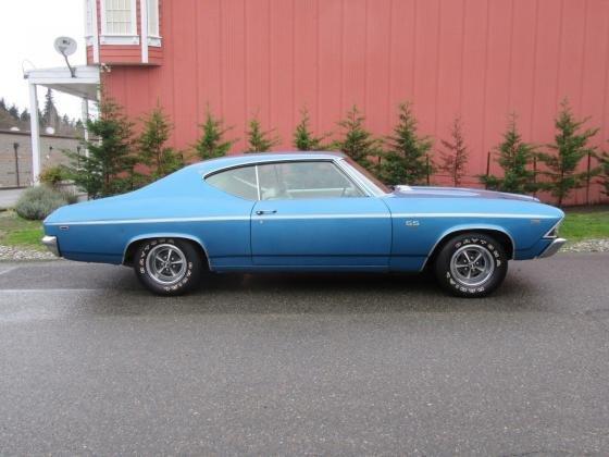 1969 Chevrolet Chevelle SS 396 CI Blue Edition