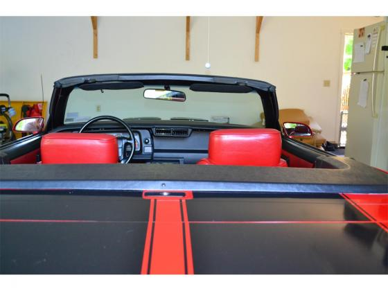 1991 Camaro Z28 Convertible 5.0L Red