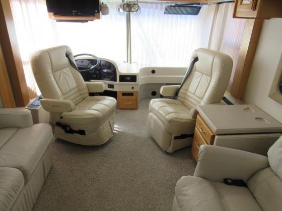 2002 Airstream LandYacht 39XL RV Diesel Class A 330HP 2 slide Clean 02 Motorhome