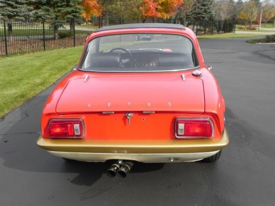 1973 Lotus Elan Sprint Twin Cam