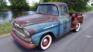 1959 Chevrolet 3100 Apache Pickup Truck Patina