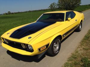 1972 Ford Mustang Mach 1 Q Code