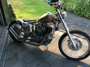 1972 Harley Davidson Ironhead Custom