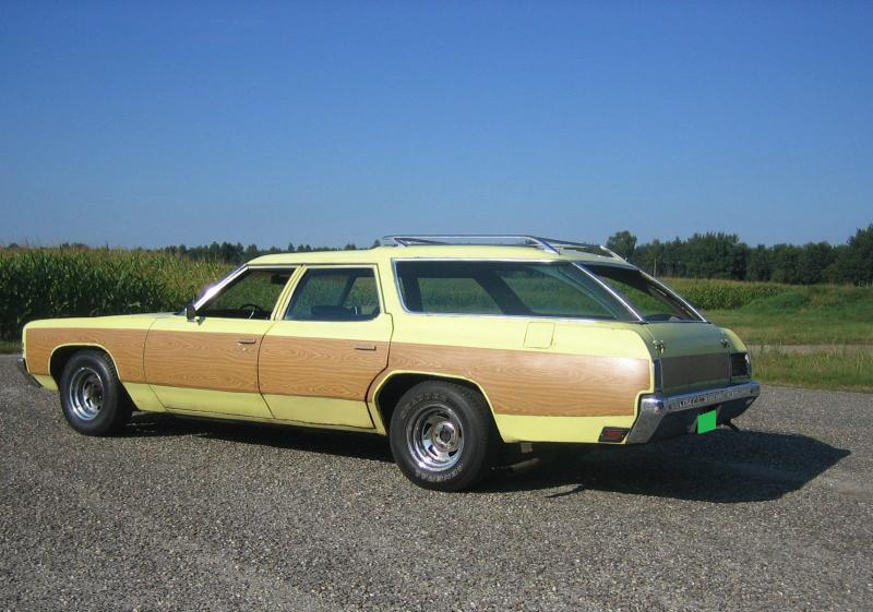 Used Cars Burlington Vt >> Cars - 1972 CHEVROLET IMPALA KINGSWOOD STATION WAGON