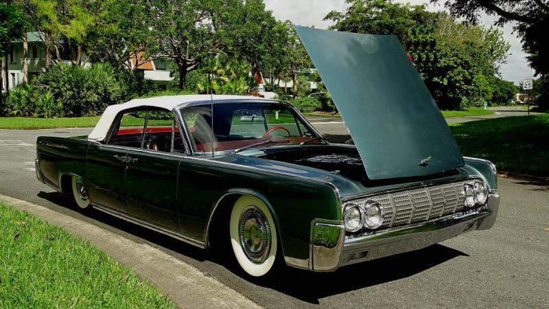 Cars 1964 Lincoln Continental Convertible With The Classic Suicide