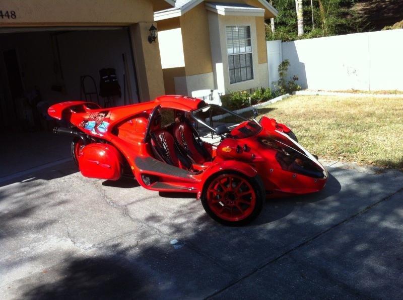 2007 Campagna T-Rex Fire Red Custom | Red 2007 Campagna T ...  2007 Campagna T...