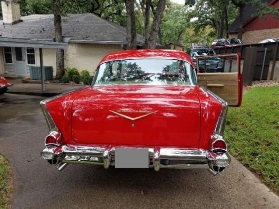 1957 Chevrolet Bel Air 150 210 BelAir LT1 Fuel Injected