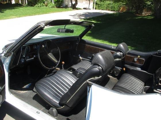1970 Oldsmobile 442 Convertible 455-365HP