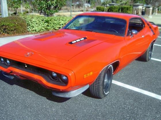 1971 Plymouth Road Runner 383 Hemi