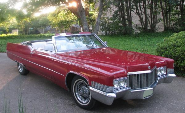1970 Cadillac DeVille Convertible Automatic