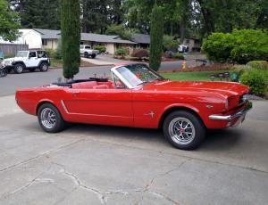 1965 Ford Mustang Convertible 289 4BBL V8