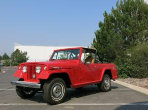 1969 Jeep Jeepster Commando Dauntless 225 V6 160hp