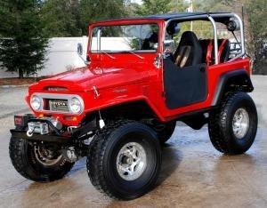 1969 Toyota Land Cruiser FJ40 4WD Red