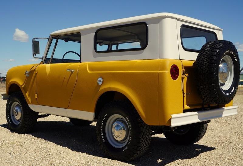Cars - 1963 International Harvester Scout 80