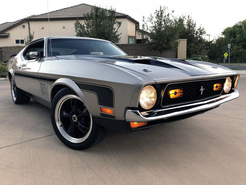 Cars - 1971 Ford Mustang Mach 1 Fastback 351 Cleveland Mustang Mach 1 Fastback 1971